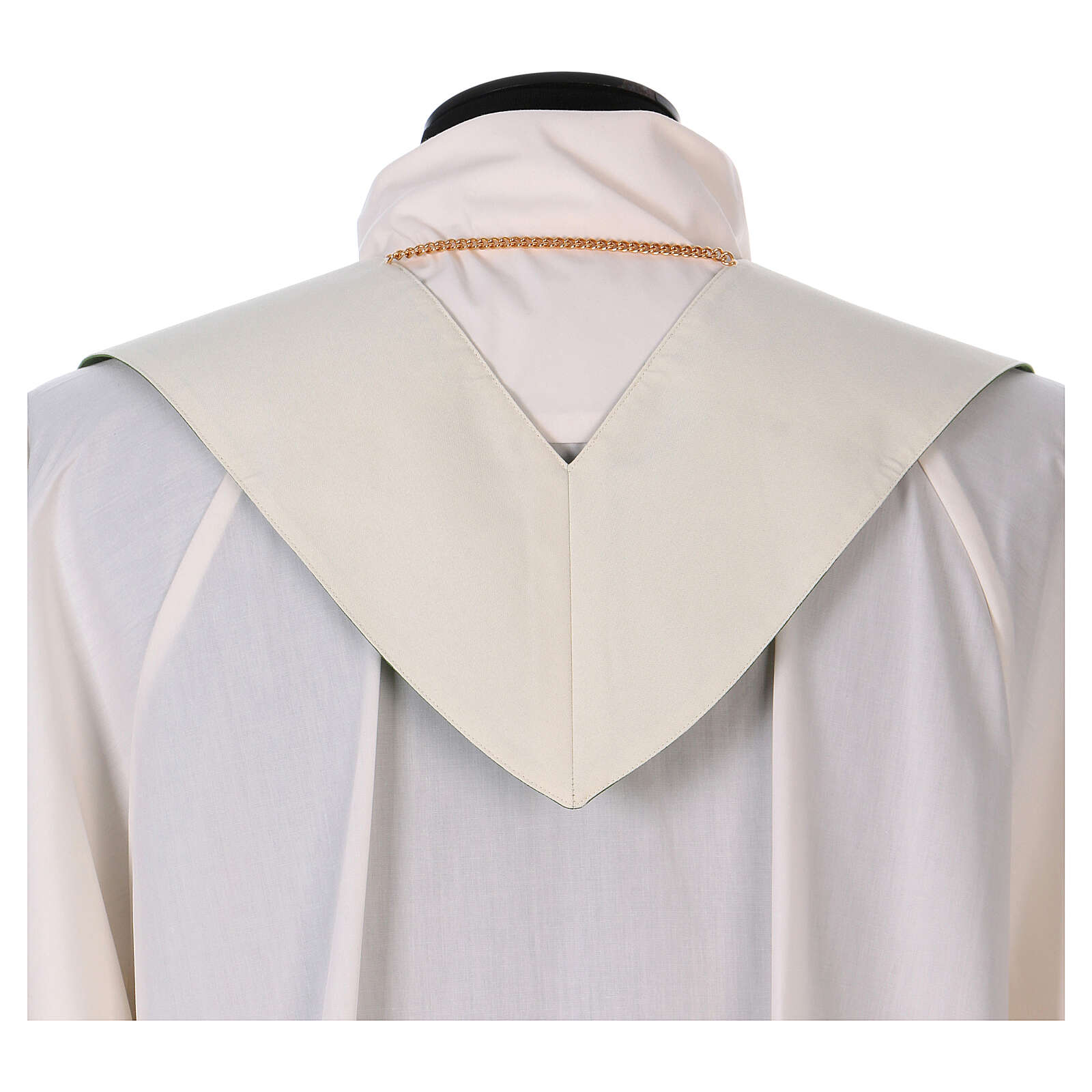 Reversible stole with XP Alpha Omega 100% polyester 4