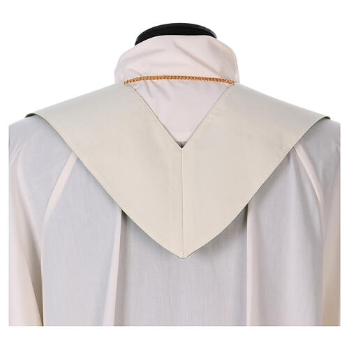 Reversible stole with XP Alpha Omega 100% polyester 7