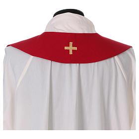 Étole rouge Saint Esprit 100% polyester s4