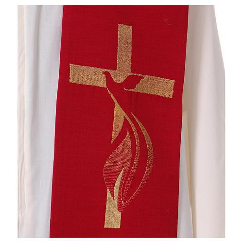Étole 100% polyester Saint Esprit 2