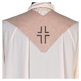Estola Sagrado Corazón de Jesús marfil s3