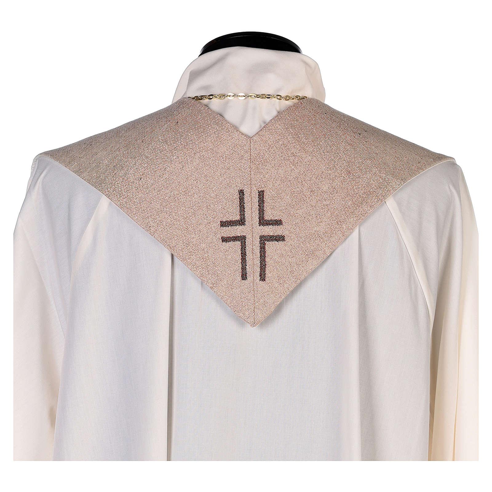 Stola Trinità di Rublev avorio 4