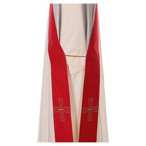 Étole avec croix 100% polyester 3