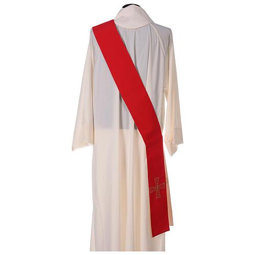 Étole avec croix 100% polyester 4