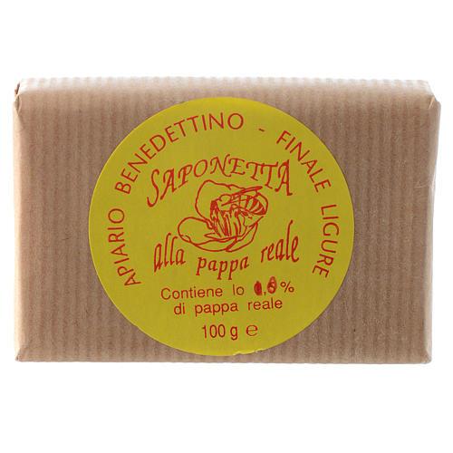 Jabón jalea real de abejas 1