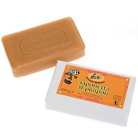 Natural shampoos, shower gels, soaps and toothpastes: Bee propolis soap