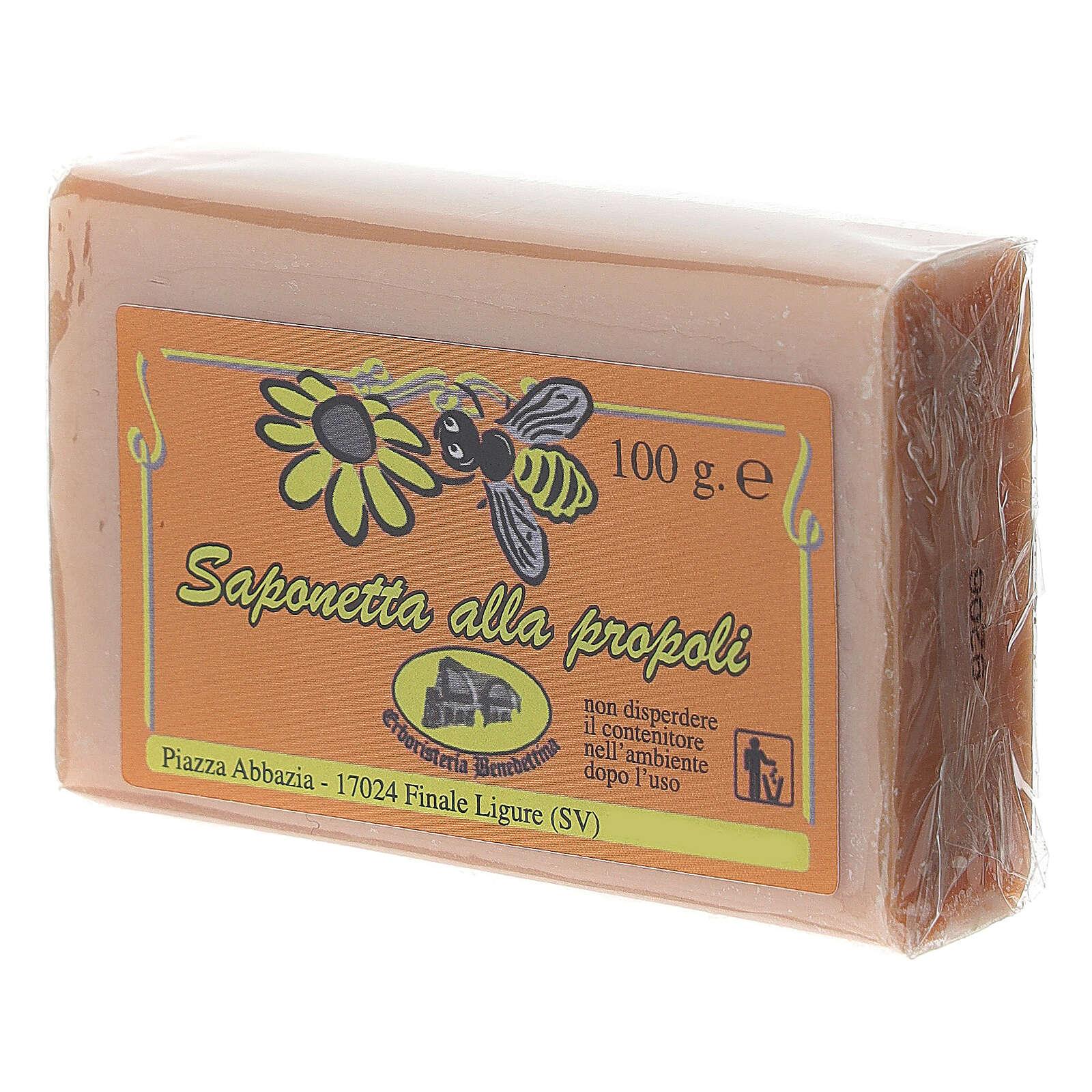 Jabón propóleo de abejas 4