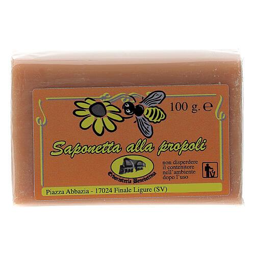 Jabón propóleo de abejas 1
