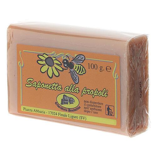 Jabón propóleo de abejas 2