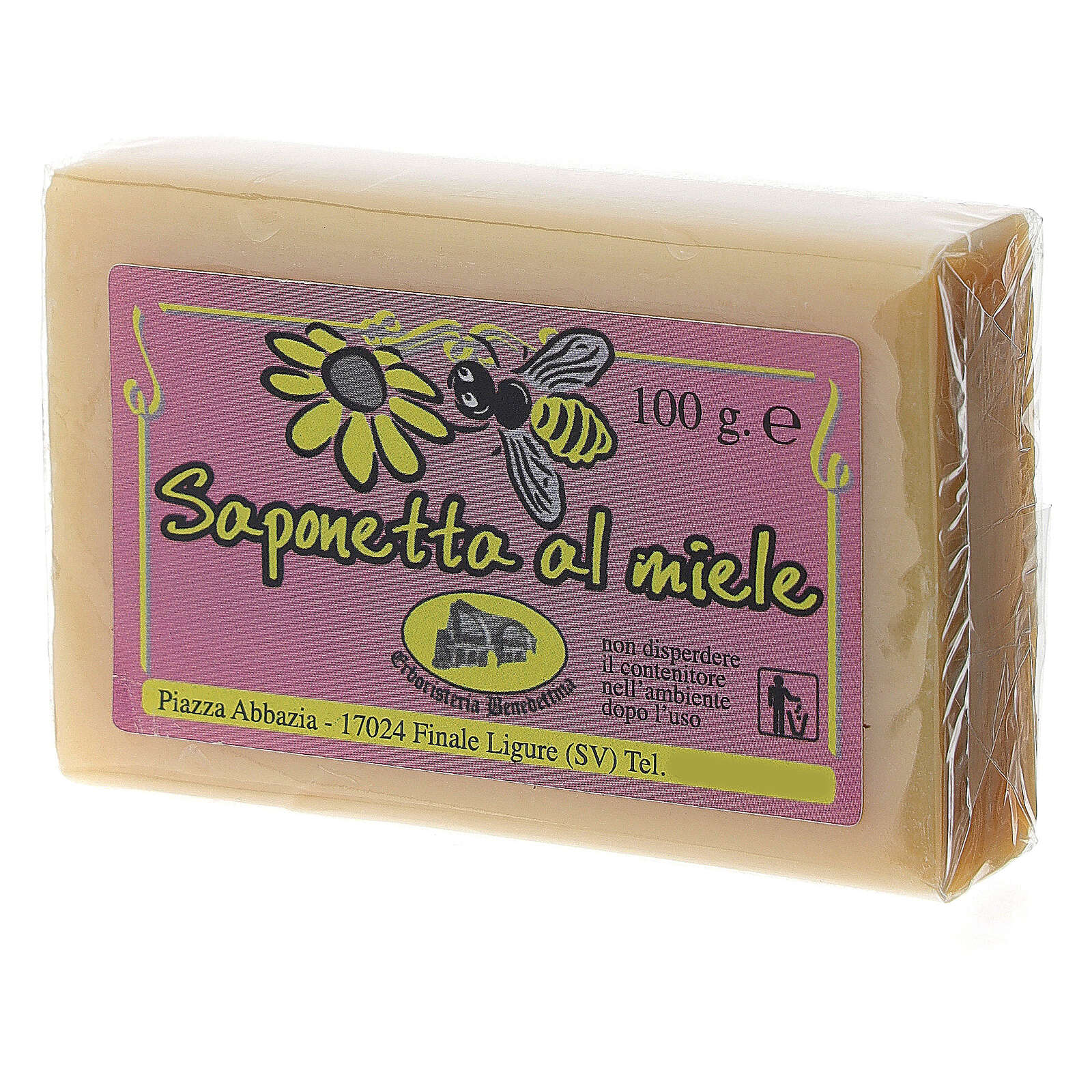 Jabón miel de abejas 4