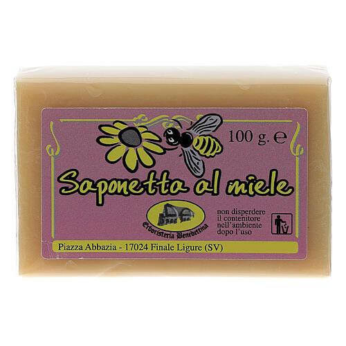 Sapone miele apiario 100 gr 1