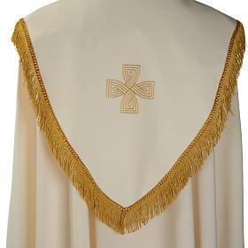 Chape liturgique croix dorées s5