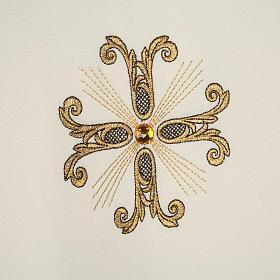 Piviale croci oro perline vetro s6