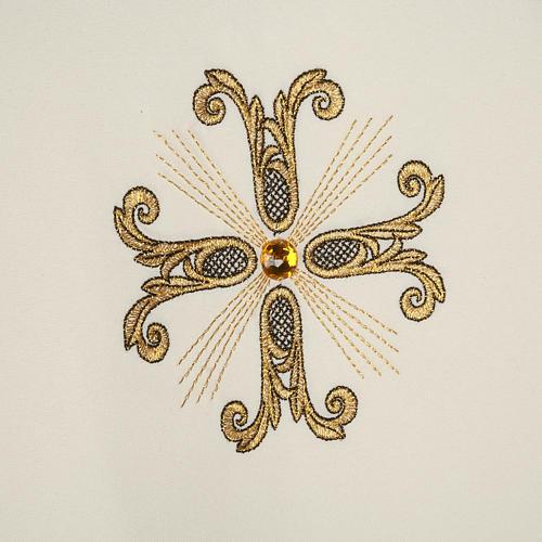Piviale croci oro perline vetro 6