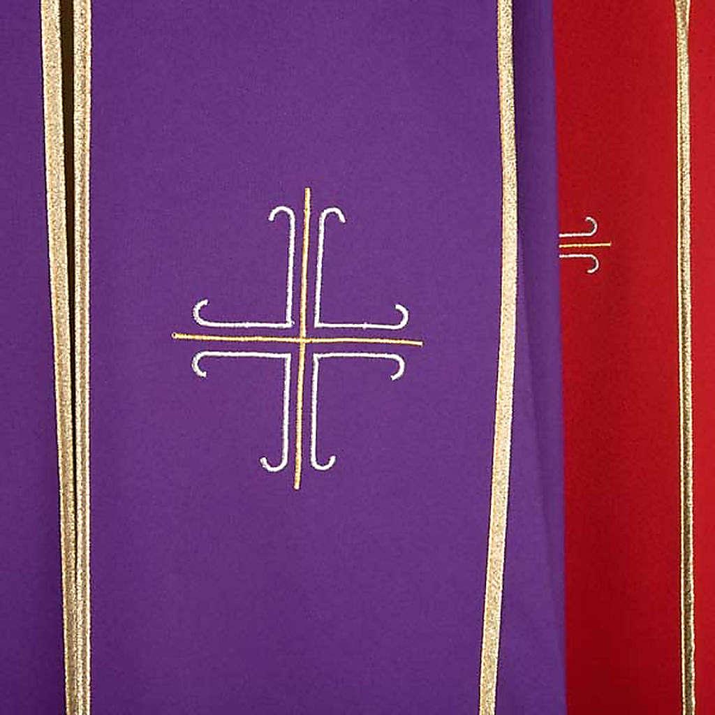 Piviale con croci stilizzate decorate 4