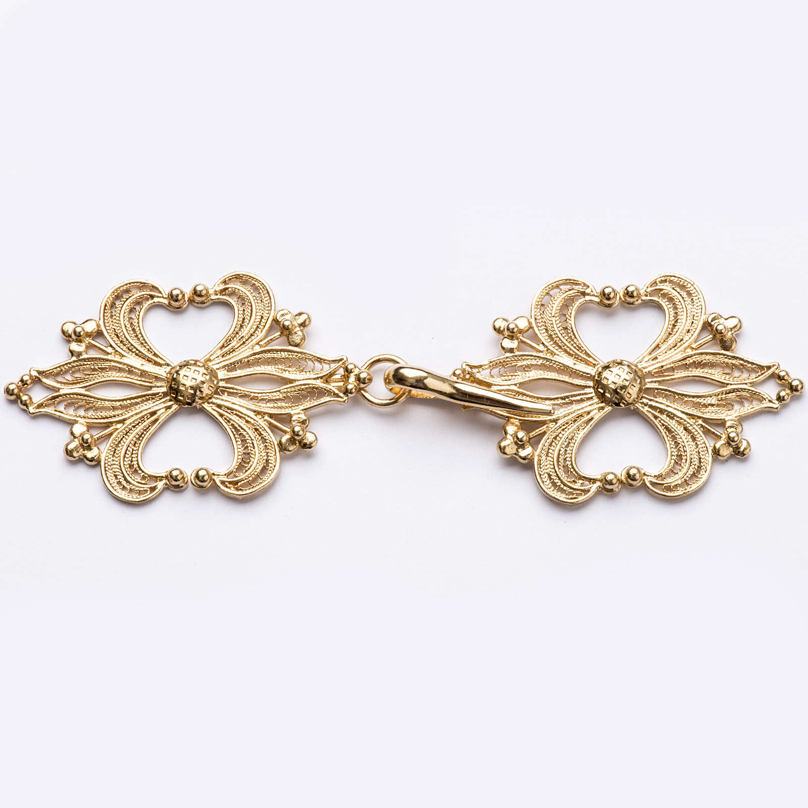 Cope Clasp in golden silver 800 filigree 4