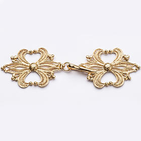 Cope Clasp in golden silver 800 filigree s1