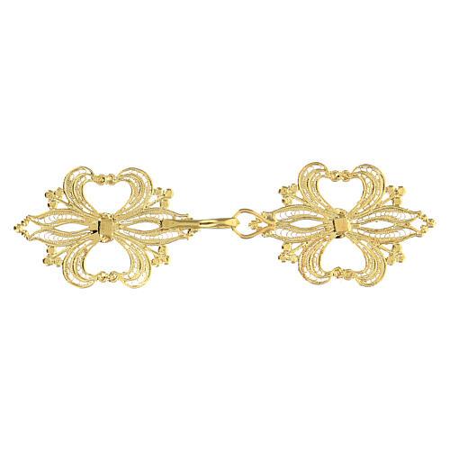 Cope Clasp in golden silver 800 filigree 2
