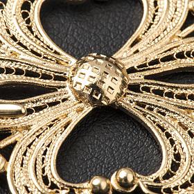 Broche plata 800 dorado en filigrana para el pluvial s4