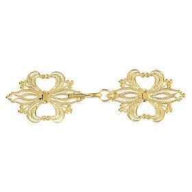 Broche plata 800 dorado en filigrana para el pluvial s2