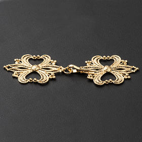 Cope Clasp in golden silver 800 filigree s3