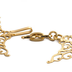Cope clasp, gilded brass, bolt  s3