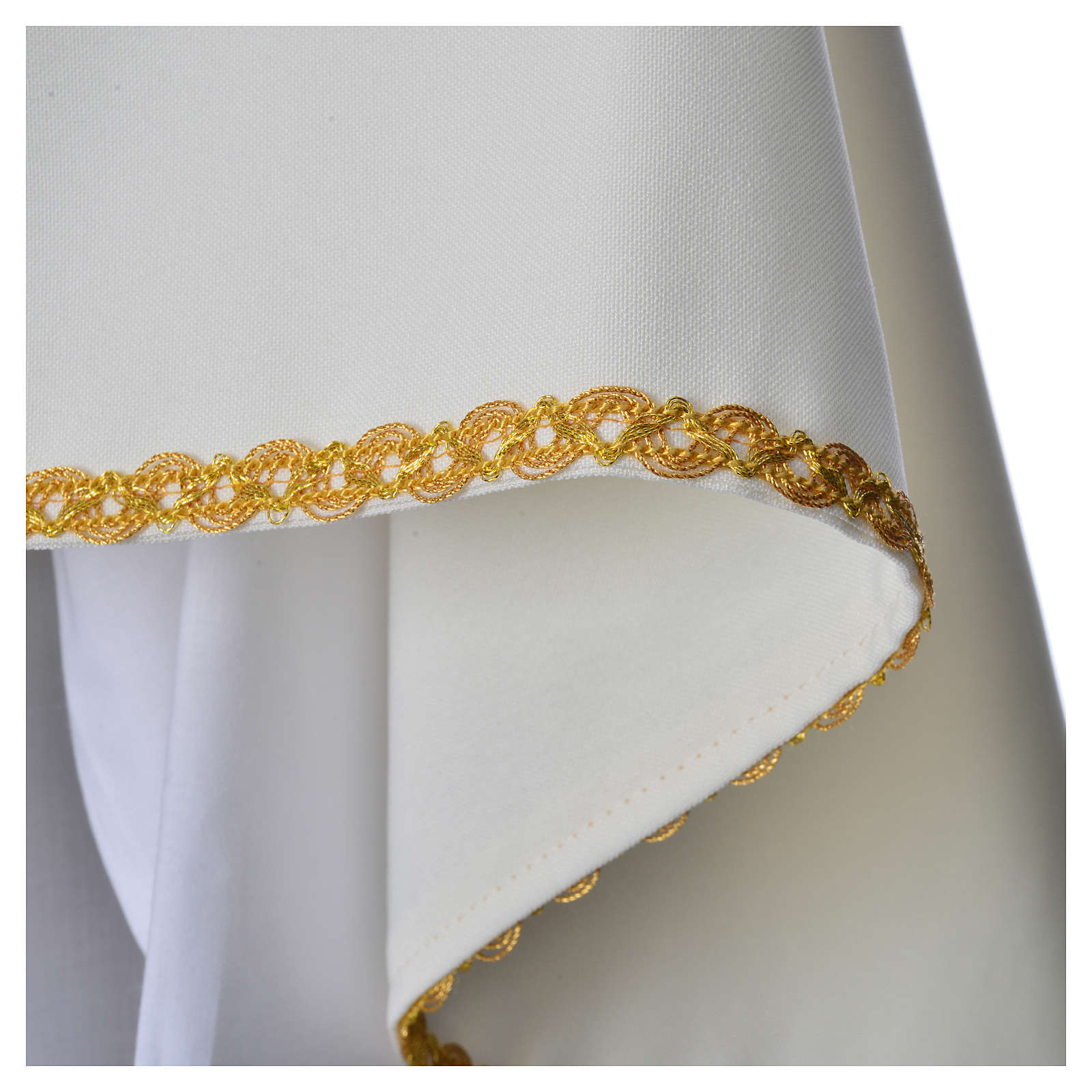 Humeral Veil, ivory with IHS embroidery 4