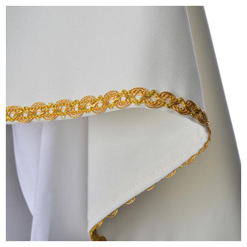 Humeral Veil, ivory with IHS embroidery 5