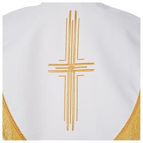 Pluvial en poliéster con cruces estilizadas s8