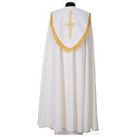 Chape en polyester avec 6 croix stylisées s7
