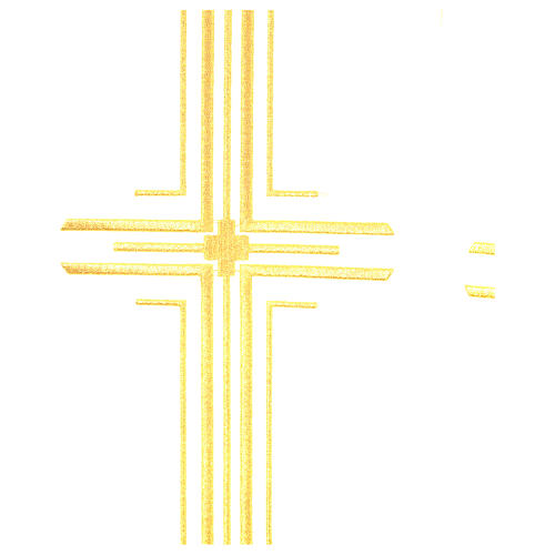 Cope in polyester with 6 crosses embroidery 9