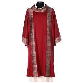 Dalmatica 100% pura lana, riporto 100% pura seta s1