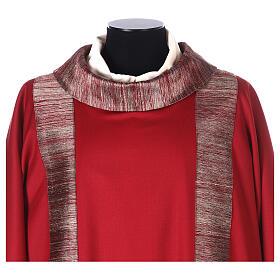 Dalmatica 100% pura lana, riporto 100% pura seta s2