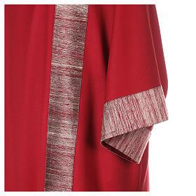 Dalmatica 100% pura lana, riporto 100% pura seta s4