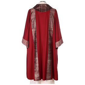Dalmatica 100% pura lana, riporto 100% pura seta s5
