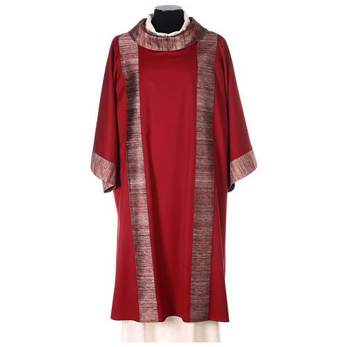 Dalmatica 100% pura lana, riporto 100% pura seta 1