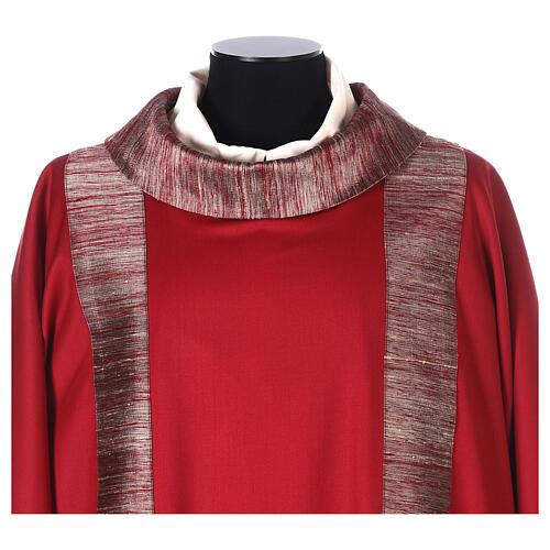Dalmatica 100% pura lana, riporto 100% pura seta 2