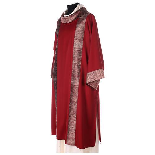 Dalmatica 100% pura lana, riporto 100% pura seta 3