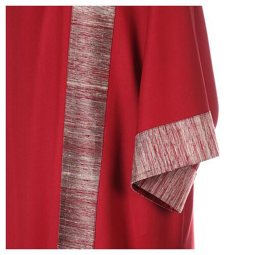 Dalmatica 100% pura lana, riporto 100% pura seta 4