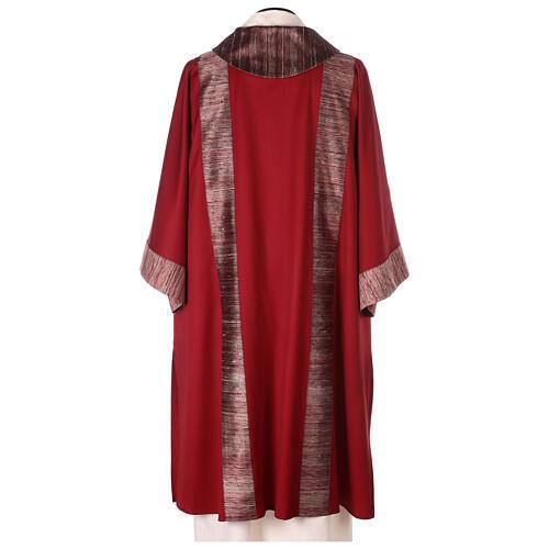 Dalmatica 100% pura lana, riporto 100% pura seta 5