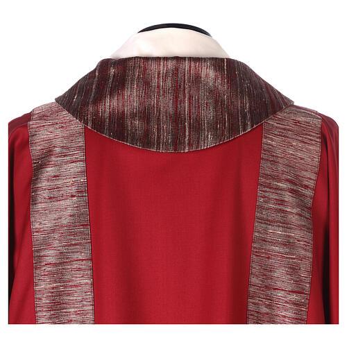 Dalmatica 100% pura lana, riporto 100% pura seta 6