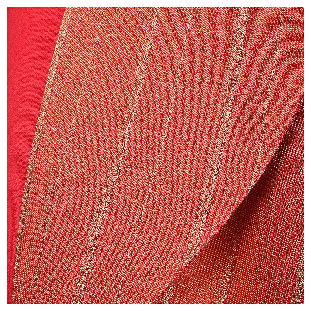 Piviale 100% pura lana vergine doppio ritorto Tasmania croci 4
