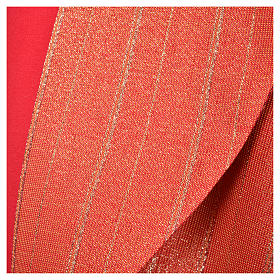 Piviale 100% pura lana vergine doppio ritorto Tasmania croci s25