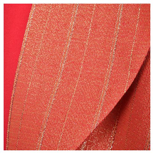 Piviale 100% pura lana vergine doppio ritorto Tasmania croci 25