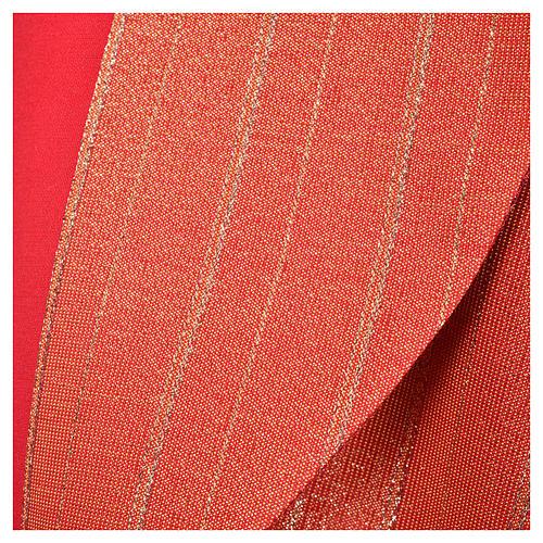 Piviale 100% pura lana vergine doppio ritorto Tasmania croci 11