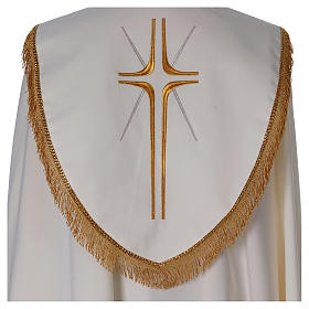 Cope in polyester with crosses s5