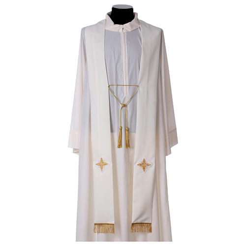 Cope in polyester with crosses 6
