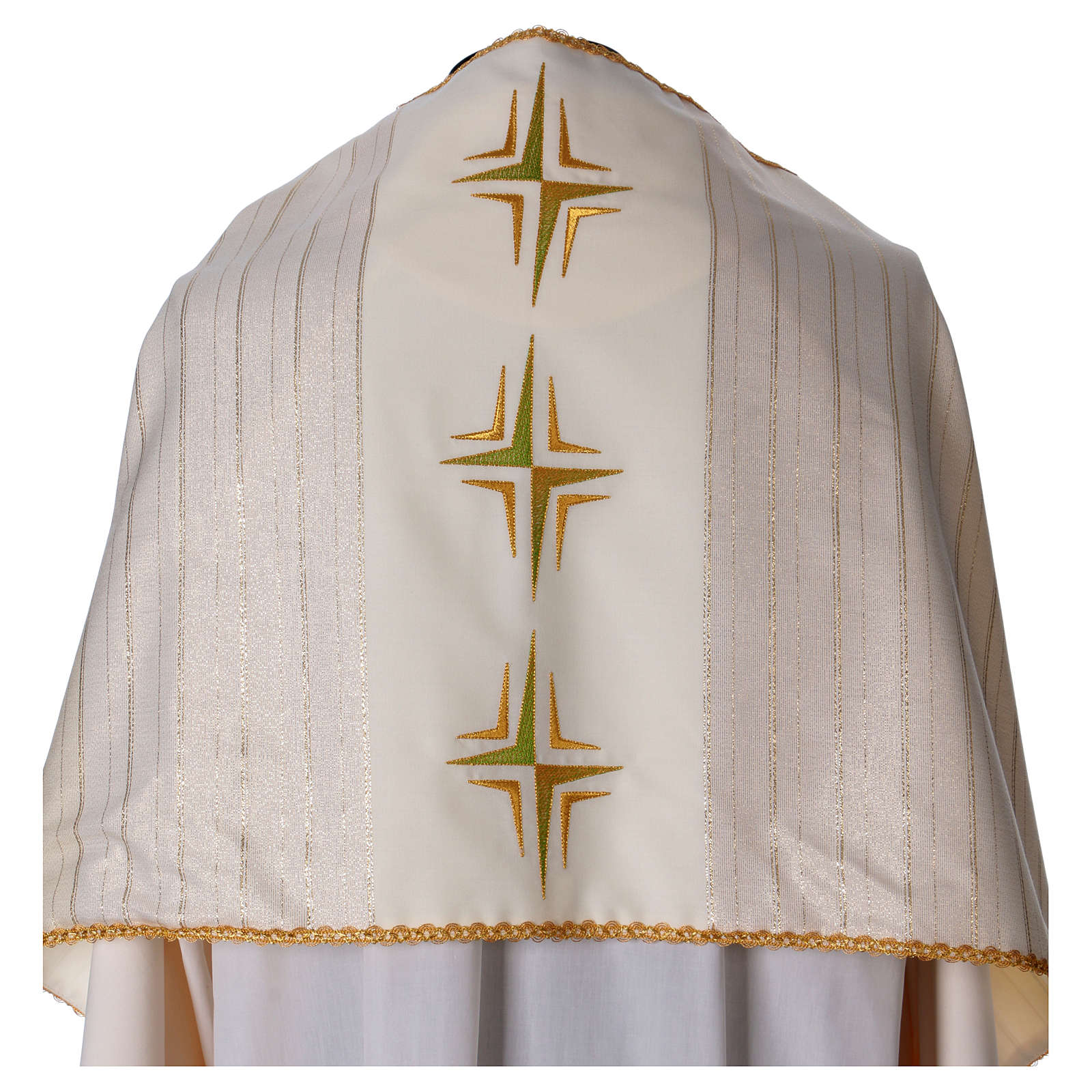 Humeral veil in 100% brushed wool two-ply fabric 4