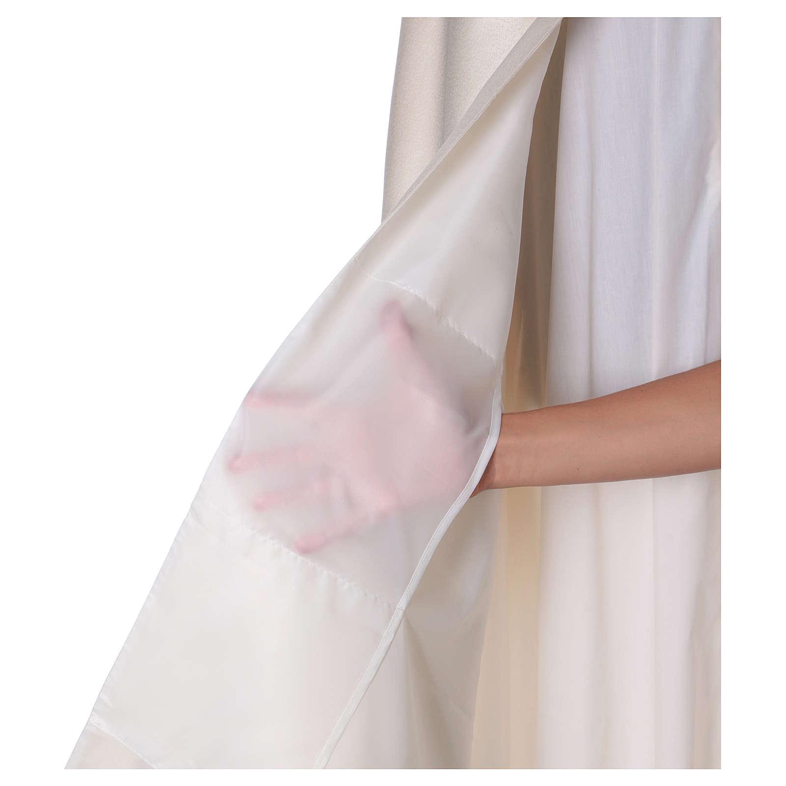 Velo humeral decoración cáliz 50x270 cm. 100% poliéster 4