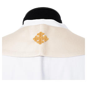 Cope in 100% polyester with chalice in relief s12